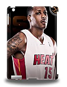 Premium NBA Miami Heat Mario Chalmers #15 Back Cover Snap On 3D PC Case For Ipad Air ( Custom Picture iPhone 6, iPhone 6 PLUS, iPhone 5, iPhone 5S, iPhone 5C, iPhone 4, iPhone 4S,Galaxy S6,Galaxy S5,Galaxy S4,Galaxy S3,Note 3,iPad Mini-Mini 2,iPad Air )