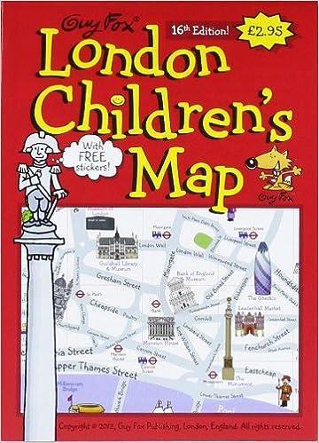 Simplified Map Of London.Guy Fox London Children S Map Guy Fox 9781904711049 Amazon Com Books