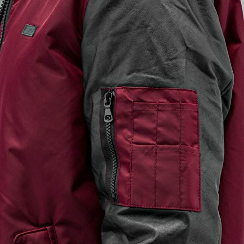 Uomo Rocawear Giacche Bomber Rosso Giubbotto gCOCHUwq