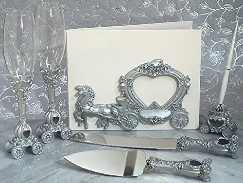ng Coach 7 Piece Fairy Tale Accessory Set (The Wedding Coach)