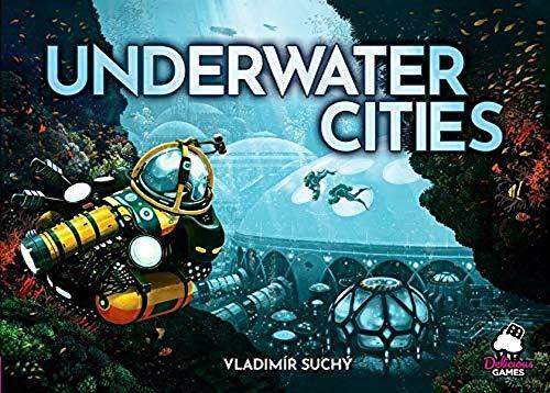 Jogo de Tabuleiro Cidades Submersas