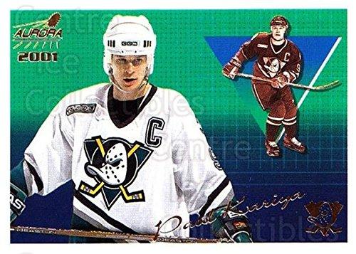 (CI) Paul Kariya Hockey Card 2000-01 Aurora Pinstripes (base) 2 Paul Kariya