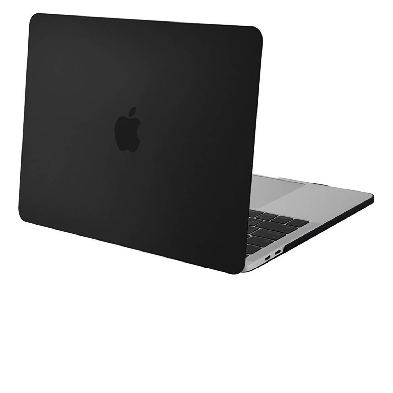 Black Gel Coque Compatible avec MacBook Pro 16 Pouces 2019 Ultra Slim Coque Rigide Compatible avec MacBook Pro 16 Pouces avec//sans Touch Bar/&Touch ID