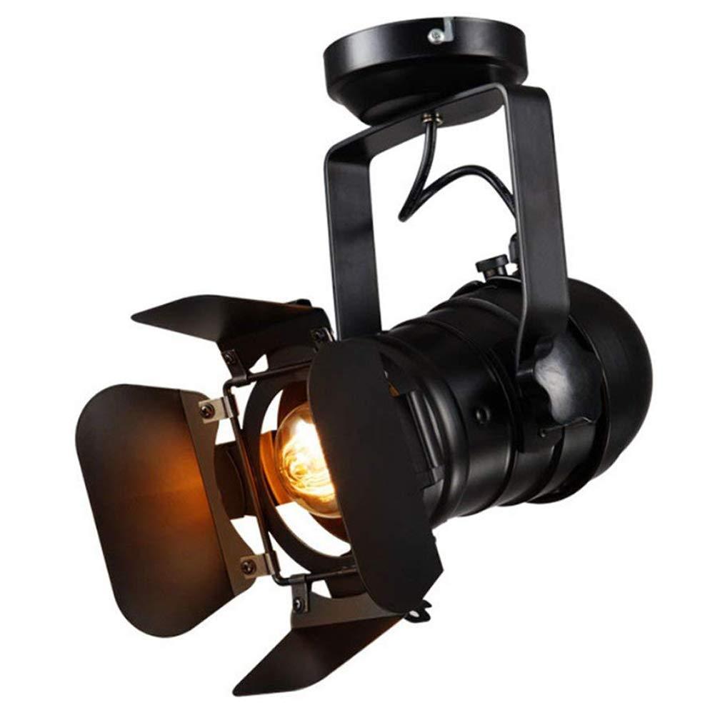 Vintage Strahler Deckenspot Retro Industrie Leuchte Spotlight Deckenstrahler Schwenkbar Hängeleuchte Einstellbare Flexible Wandlampe Deckenlampe Innen Lampe Beleuchtung Wohnzimmer Esszimmer Bar