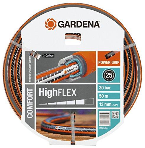 Gardena Comfort Highflex Schlauch 10 x 10, 13 mm, 1/2 Zoll, 50 m ohne Systemteile, 18069-20