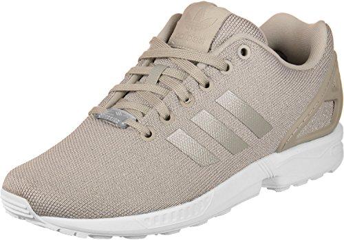 adidas Damen ZX Flux W Sneakers, Grün, EU Grau (Grivap/Grivap/Plamet)