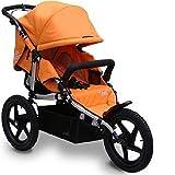 Tike Tech All Terrain X3 Sport AUTUMN ORANGE Single Child Stroller