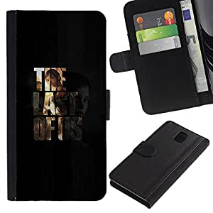 Stuss Case / Funda Carcasa PU de Cuero - Última nosotros - Samsung Galaxy Note 3 III