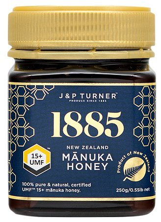Manuka Honey 15+ UMF Certified 100% Pure, Raw and Natural, for Health and Healing, Premium Quality and Softness