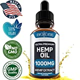 PRODUCT DETAILS:  - Made in the USA - Third Party Tested - No psychoactive effects - 1000mg Active Premium Hemp Oil - Cruelty-free    BENEFITS OF HEMPWORKS HEMP OIL:   REDUCES ANXIETY AND STRESS: helps to reduce anxiety, support mood stabilization, d...