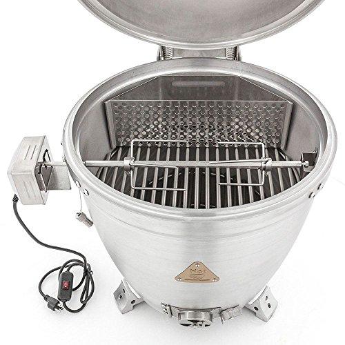 "Blaze Outdoor Products Blaze BLZ-KMDO-ROTIS 20"" Kamado Rotisserie Kit with Charcoal Basket"