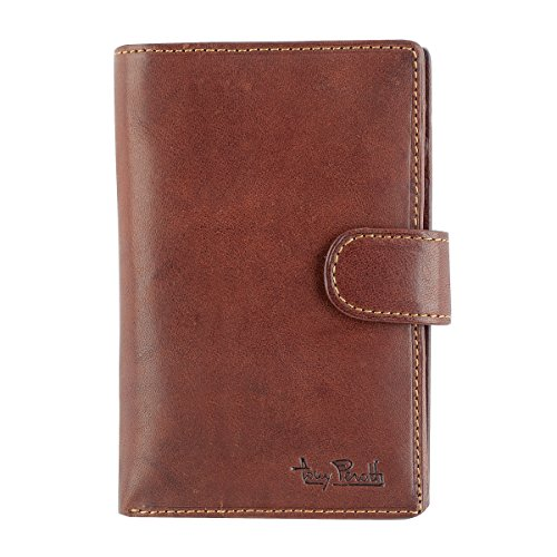Ladies fold wallet Damengeldbörse - Vegetalle Collection - Tony Perotti Italy Farbe Dark Brown 37btt8