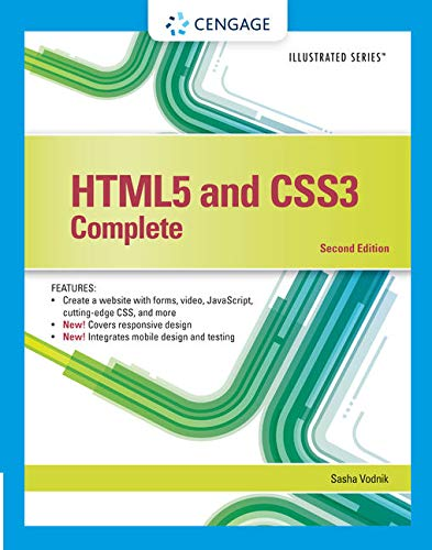 Book Depository HTML5 and CSS3, Illustrated Complete by Sasha Vodnik.pdf