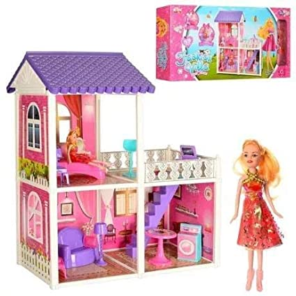 Buy Sajani Big Size Creative Doll House With Doll For Girls Beauty