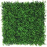 Artificial Boxwood Hedge, privacy hedge screen, UV Protected Faux Greenery Mats, boxwood wall, Suitable for Both Outdoor or I
