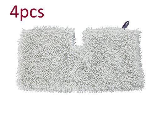 VideoPUP 4pcs New Microfiber Pads Replacement Shark Steam Mo