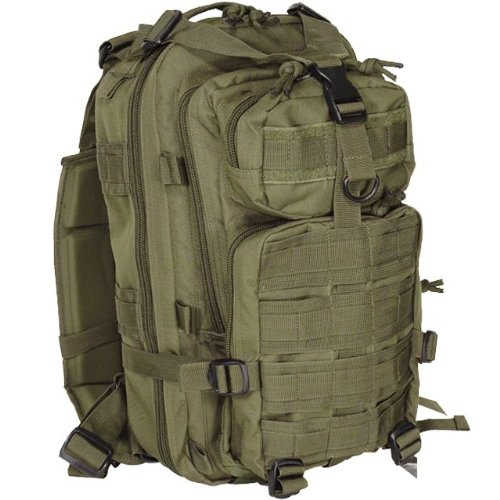 Voodoo Tactical Level III Assault Pack 72 Hour Bug Out Bag – 15-7437 Olive Drab OD Green, Outdoor Stuffs