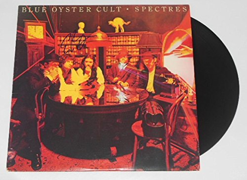 Eric Bloom Blue Oyster Cult Spectres Hand Signed Autographed Lp Record Album with Vinyl Loa