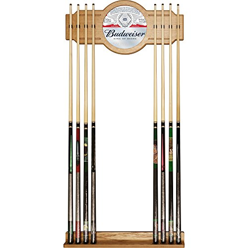 Trademark Gameroom Budweiser Cue Rack with Mirror