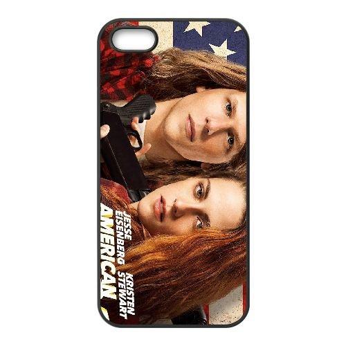American Ultra 2015 Poster coque iPhone 5 5S cellulaire cas coque de téléphone cas téléphone cellulaire noir couvercle EOKXLLNCD21614