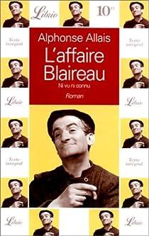 L'affaire Blaireau par Allais