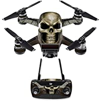 Skin for DJI Spark Mini Drone Combo - Skeletor| MightySkins Protective, Durable, and Unique Vinyl Decal wrap cover | Easy To Apply, Remove, and Change Styles | Made in the USA