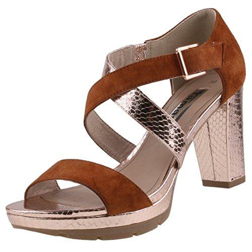 Tamaris 1-28041-36 Sandalias para mujer Braun