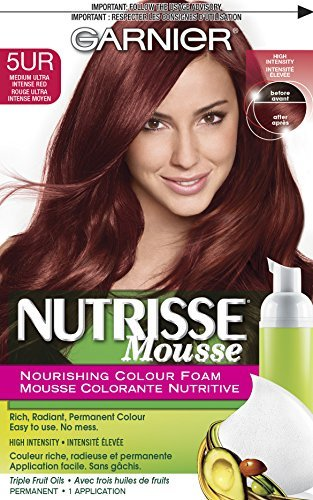 Garnier Nutrisse Nourishing Hair Color Foam - 5UR Medium