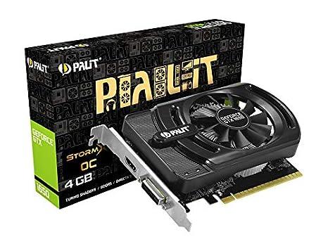 Palit NE51650S06G1-1170F - Tarjeta gráfica (GeForce GTX 1650 ...