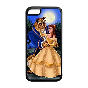 customized Beauty and the Beast for Iphone 5C TPU case 5C-brandy-140042