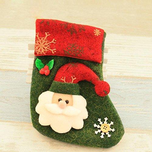 Christmas Tree Ornament Xmas Socks Hangi...