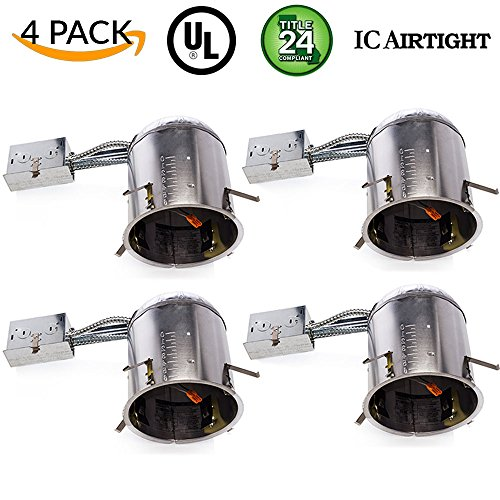 Sunco Lighting 4 PACK - 6