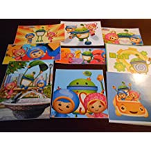 9 Team Umizoomi inspired Stickers, Party Supplies, Favors, gifts, labels, decorations, Srapbooking, Crafts, Rewards