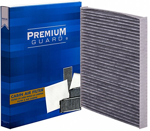 Premium Guard Cabin Air Filter PC5527 | Fits 2001-2004 Chevrolet Silverado 1500, 2003-2004 GMC Sierra 1500, 2003-2006 Chevrolet Avalanche, 2003-2004 Chevrolet Silverado/GMC Sierra 2500HD/3500HD