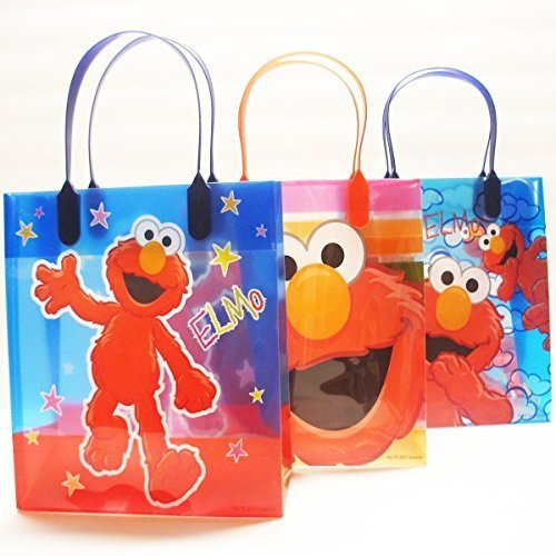 Sesame Street Elmo Party Favor Goody Gift Bag - 8