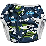 Kidsaroo Reusable Swim Nappy, Fully Adjustable This One-Size is All You Will Need from Birth to Potty Training, Available in 15 Beautiful Designs, Boys & Girls