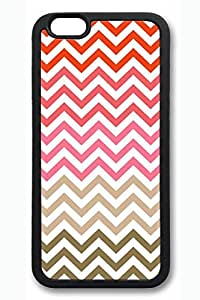 Colored Stripes Slim Soft Cover for iPhone 6 Plus Case ( 5.5 inch ) TPU Black Cases