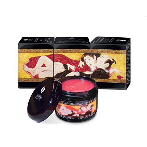 Buy Shunga Sensation Balm, Blazing Cherry, 2-Ounce Plastic Jar