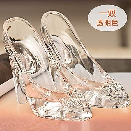 Adornos Zapatos de cristal de Cenicienta Decoración Regalo ...