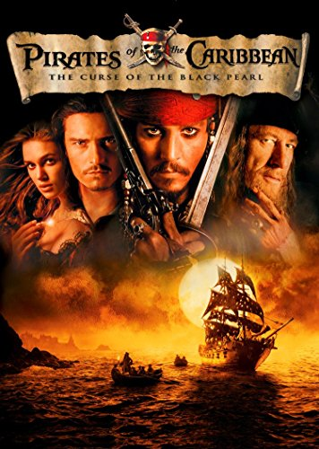 NeuHorris 000 Pirates of The Caribbean The Curse of The Black Pearl 14x20 inch Silk Poster Aka Wallpaper Wall ()