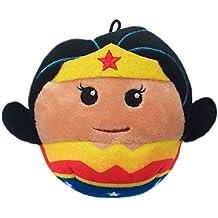 Hallmark Fluffballs Plush Character Ornament, 4 inches (Wonder Woman)