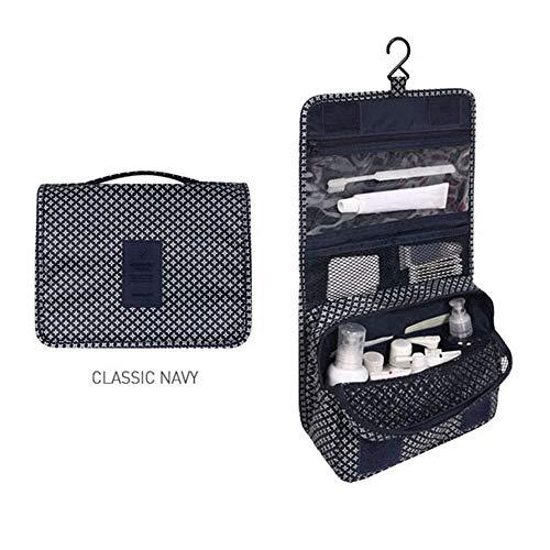 Zipper Make Up Bags Polyester High Capacity Makeup Case handbag Organizer Storage Wash Bag