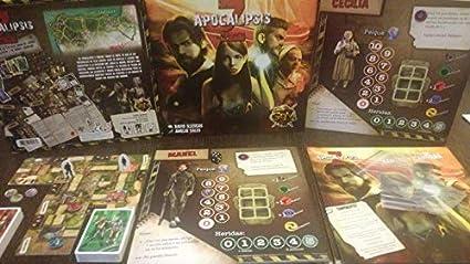 Apocalipsis Z - Juego de Mesa en Castellano: Amazon.es: Juguetes y juegos