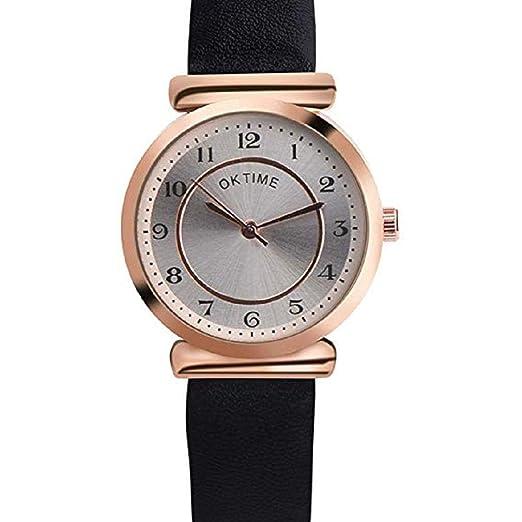 Scpink Reloj de Cuarzo para Mujer, Liquidación Relojes de Pulsera analógicos para Mujer Relojes de