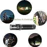 USB Rechargeable LED Flashlight,Zanflare F1