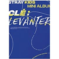 STRAY KIDS Cle : Levanter Album ( LEVANTER Version ) CD+Photobook+3 QR Photocards+(Extra 4 Photocards + 1 Double-Sided…