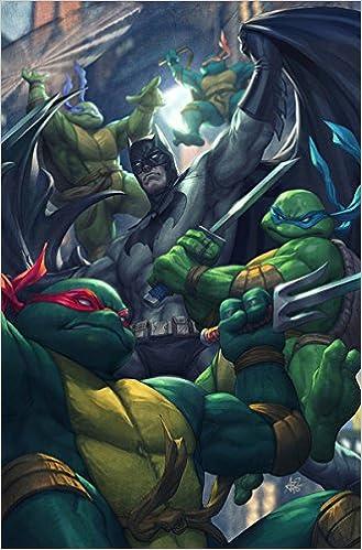 Batman Teenage Mutant Ninja Turtles # 1 Artgerm CONQUEST ...