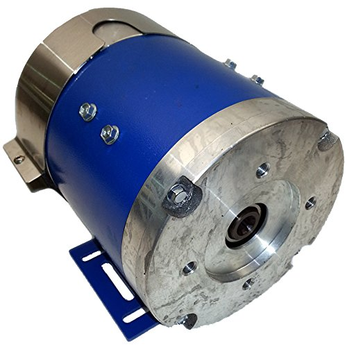 Car Hauler Parts - Electric Hydraulic Totally Enclosed Pump Motor - OK FOR OUTDOOR USE - Part#: 170-009-0001B - Replaces Cottrell 75063 & Advanced AL4-4001A. Cottrell Parts (Blue Option) ()