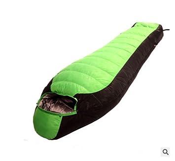 Fuera de sacos de dormir abajo Blanco relleno de plumón de pato 90% Cuatro Adultos