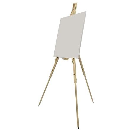 artina field easel malaga for art lightweight pine wood 80 x 96 x